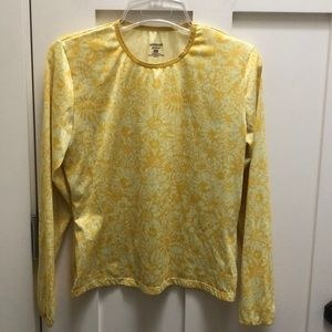 Patagonia Capilene Base Flower Long Sleeve shirt